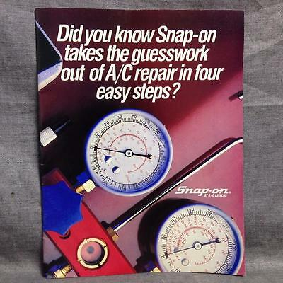 Vintage Catalog Snap-On Tools Corporation A/C 1987/