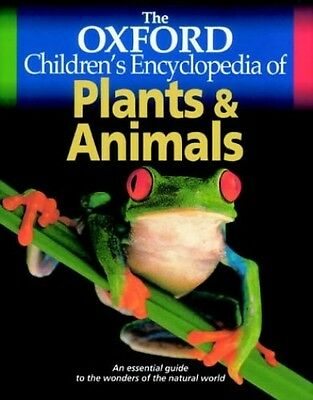 The Oxford Children's Encyclopedia of Plants and Animals Hardback Book The Cheap