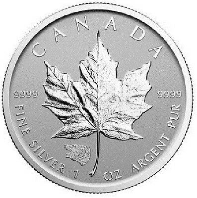 1 x 1 oz silver coin - 2016 Maple Grizzly privy Royal Canadian Mint RCM 99.99%