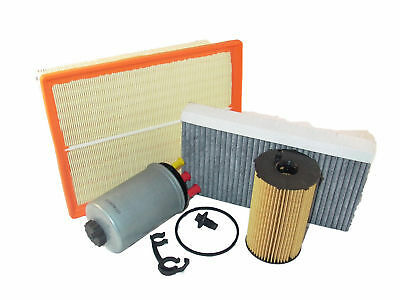 Air Oil Fuel Pollen Filter Kit Discovery 3 Range Rover Sport 2.7L TDV6 2005-2007