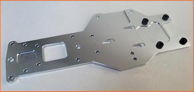 1/5 Baja Buggy Rear Lower Chassis Plate HD Alloy 5mm Silver HPI 5B 5T PRC KM RV