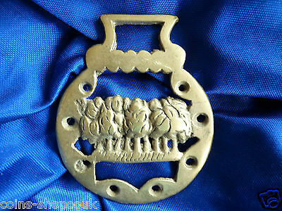 Vintage HORSE BRASS   THE FOREST