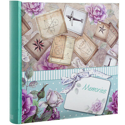 Large Memories Memo Slip In Case Photo Album For 200 Photos 4''x 6''- CL-6806