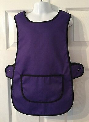 Wholesale Job Lot 5 Brand New Kids Childrens Tabards Aprons Purple Clothes
