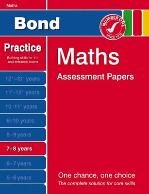 Bond First Papers in Maths: 7-8 Years (Bond Assess... by Andrew Baines Paperback