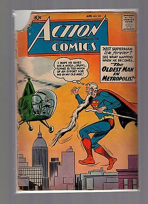 Action Comics #251 GD Superman, Tommy Tomorrow