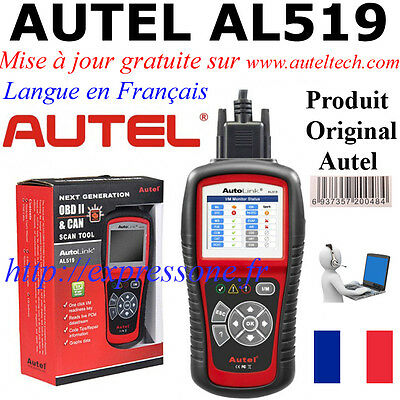 Autel  AL519  Interface Diagnostique Multimarque pro obd multi-diag en français