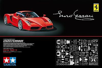 F/S New Tamiya 1/12 Big Scale Series Enzo Ferrari 12047 Assembly Kit Models