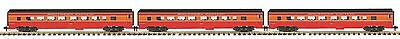 MTH 70-65028, One Gauge, 3-Car Streamlined Passenger Car Set - Southern Pacific