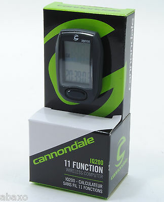 Cannondale IQ200 Wireless Cycle Computer '14