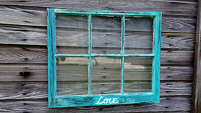 Vintage Sash Antique Wood Window Picture Frame Pinterest Wedding Etsy Custom