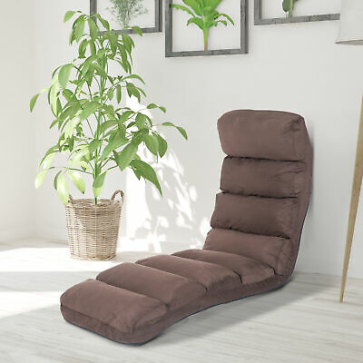 HOMCOM Lounge Sofa Bed Adjustable Floor Sleeper Chair Seat Chaises