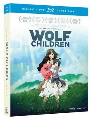 Wolf Children [New Blu-ray] With DVD