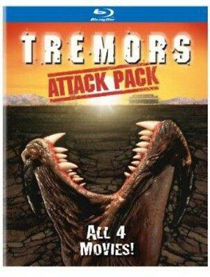 Tremors Attack Pack [New Blu-ray] 2 Pack, Slipsleeve Packaging, Snap Case
