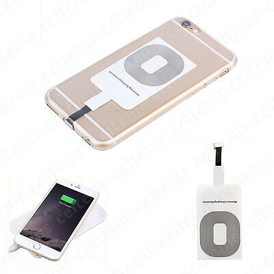 Qi Wireless Charging Receiver Card Charger Module Mat for iPhone 6 6s 7 Plus 5s