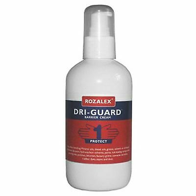Rozalex Dri-Guard Barrier Cream 250ml Pump Bottle Sanitiser/Hand Wash/Cleaning