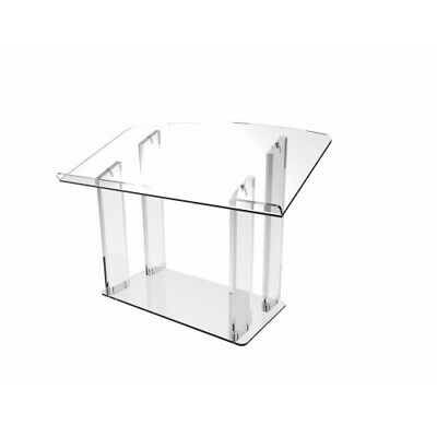 Acrylic Tabletop Lectern, Clear Podium, Church Pulpit 119787