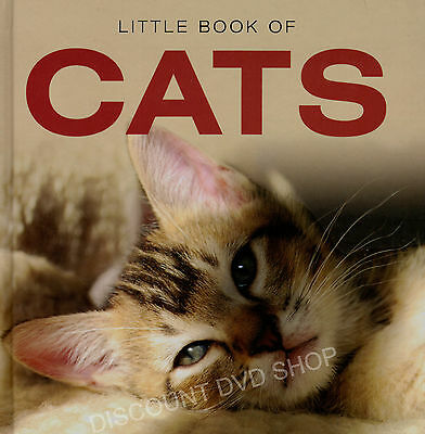 LITTLE BOOK OF CATS.New hardback book.