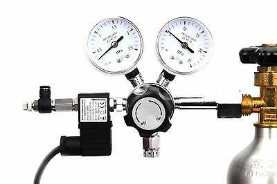 Pro Dual Stage CO2 Regulator with Advanced Solenoid and Pisco Valve • EUR 240,25