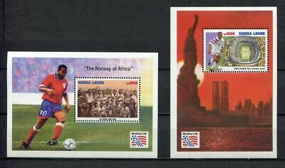 s7023) SIERRA LEONE 1994 MNH** WC Football'94 - CM Calcio S/Sx2