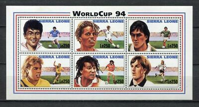 s7022) SIERRA LEONE 1994 MNH** WC Football'94 - CM Calcio S/S