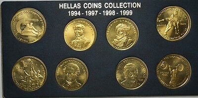Greece - UNC Complete Year Set 1994/1997/1998/1999