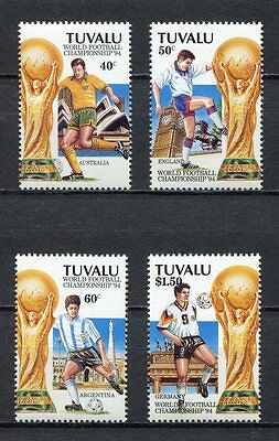 s7057) TUVALU 1994 MNH** WC Football'94- CM Calcio 4v.