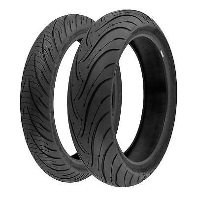 Michelin Pilot Road 3 120/70 ZR17 (58W) & 180/55 ZR17 (73W) Motorcycle Tyres