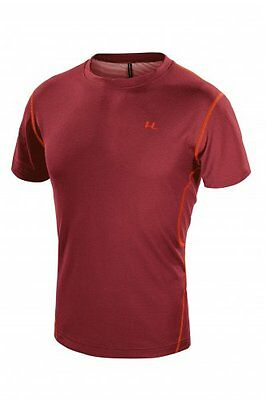 T-shirt Uomo tecnica escursionismo Ferrino Orange Shirt colore Bordeaux