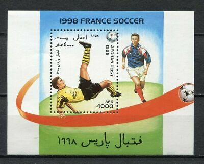 s7082) AFGHANISTAN 1996 MNH** WC Football'98 - CM Calcio S/S