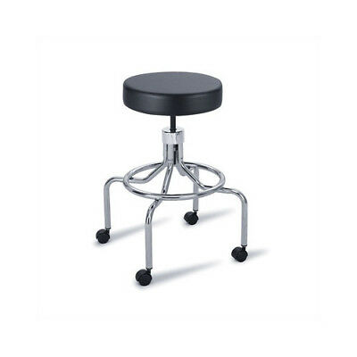 Safco Products Company Height Adjustable Lab Stool with 2 Swivel Casters High