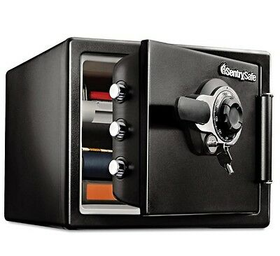 Sentry Safe Fireproof Dial with Key Lock Security Safe 0.8 CuFt