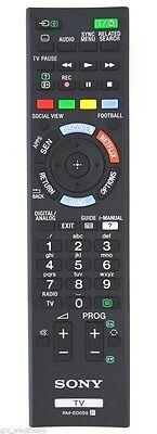 *NEW* Genuine Sony RM-ED059 / RMED059 TV Remote Control