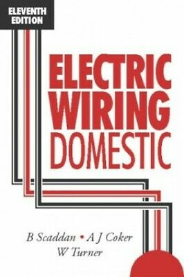 Electric Wiring Domestic by Turner, W. Paperback Book The Cheap Fast Free Post