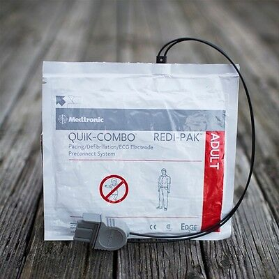 Physio Control LIFEPAK 500 / 1000 Electrode QUIK-COMBO electrode pads - In Stock