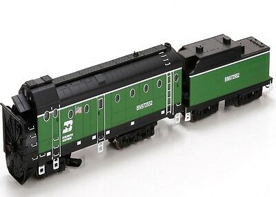 Athearn ATH93804 HO Scale Rotary snowplow BN #97255 RTR