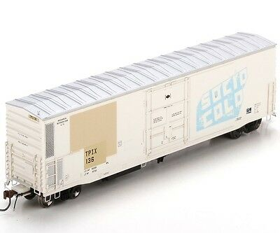 Athearn ATHG63065 HO Scale 57' Mechanical Reefer TPIX #136 RTR