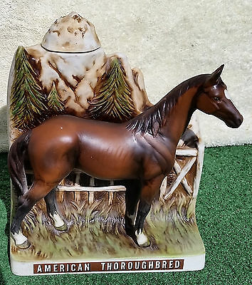 VINTAGE American Thoroughbred - Pancho Villa Tequila Decanter