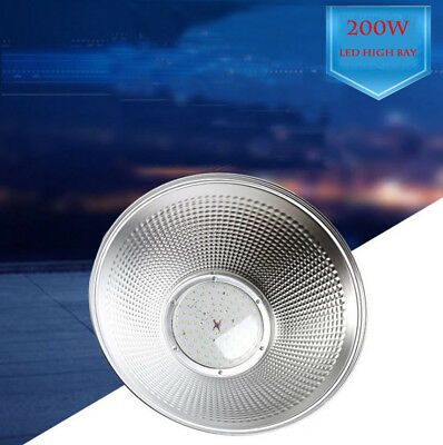 150W 200W LED High Bay Light Bright White Lamp Lighting Fixture Factory Industry