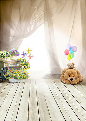 Baby Photo Backdrop Studio for Children House Vinyl Photography Background 5x7ft