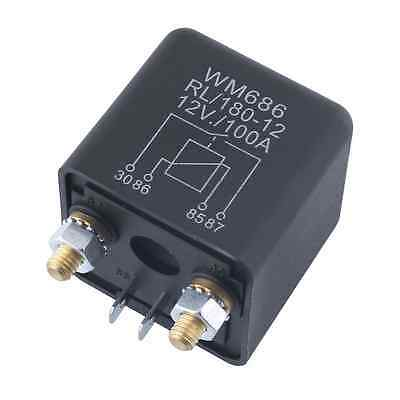 Car Auto 12V 100A Relay 4 Pin RL180 Heavy Duty Install Amp Style Split