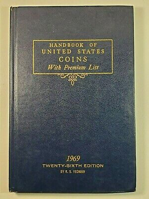 1969 Blue Book A HandBook of United States Coins Dealer Guide 26th Edition!