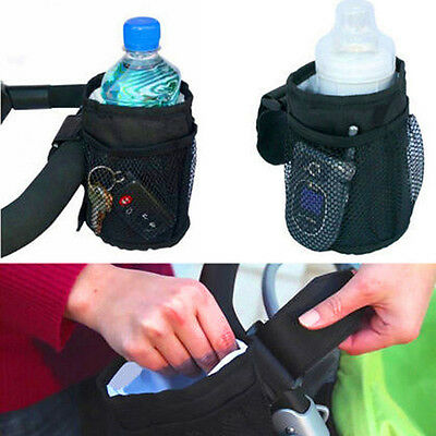 Pram Buggy Stroller Insulated Cup Holder Drink Bottle Holder Baby Pushchair Bag