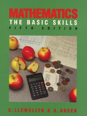 Mathematics: The Basic Skills by Greer, Alex Paperback Book The Cheap Fast Free