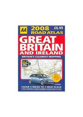 AA 2008 Road Atlas - Great Britain and Ireland - Fully Updated Fixed Speed Camer