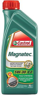 1 Ltr Castrol MAGNATEC 5W-30 C2 Fully Synthetic Engine Oil 1 Litre 1L