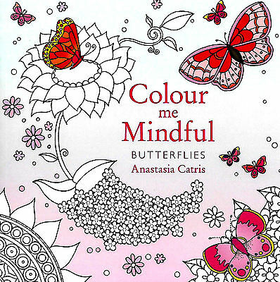 Butterflies (Small Adult Colouring Book) (Colour Me Mindful) New Mindfulness P/B