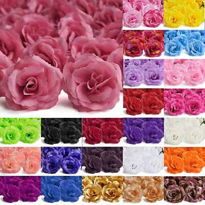 70mm Artificial Fake Big Rose Flowers 20pcs Wedding Party Decoration