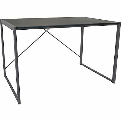 Wooden Computer Desk Laptop PC Home Office University Large Study Table - Silver