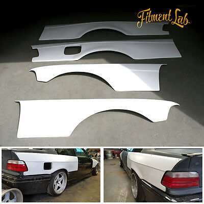 Fitment Lab bodykit Overfenders Wide Body kit for BMW E36 Coupe